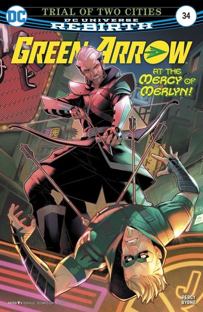 Green Arrow #34 (2017)