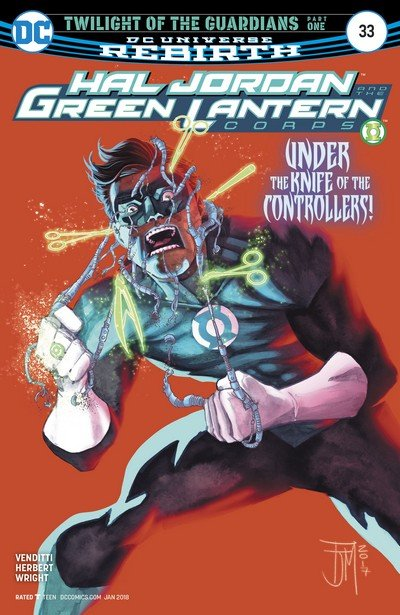 Hal Jordan and the Green Lantern Corps #33 (2017)