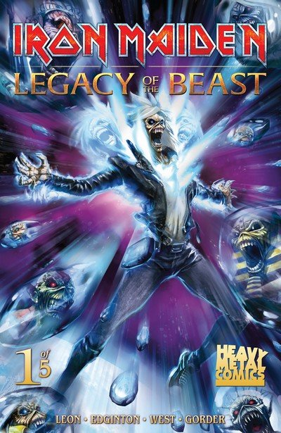 Iron Maiden Legacy of the Beast #1 (2017)