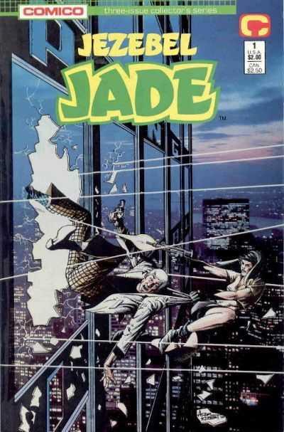 Jezebel Jade #1 – 3 (1988)