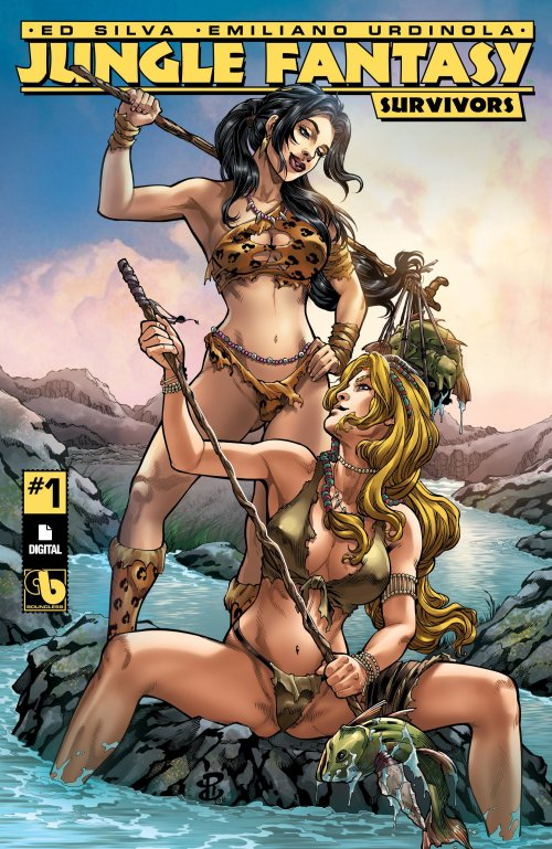 Jungle Fantasy – Survivors #1 – 6 (2017) (ADULT)