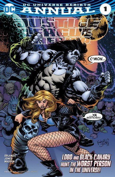 Justice League of America Annual #1 (2017)