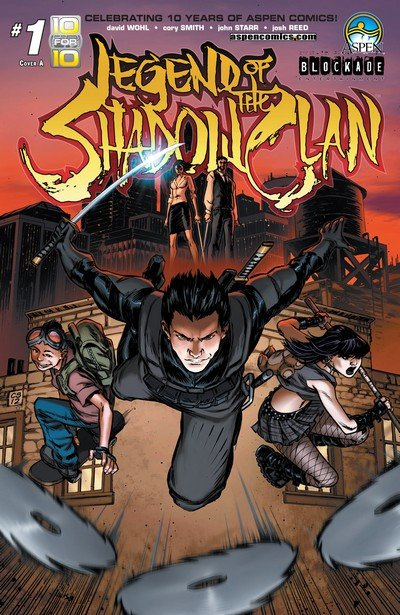 Legend of the Shadow Clan #1 – 5 (2013)