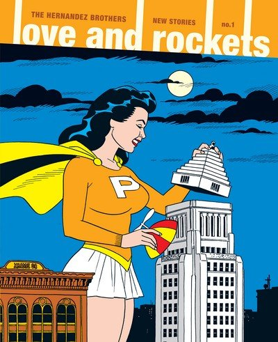 Love and Rockets (Collection + TPBs) (1982-2017)
