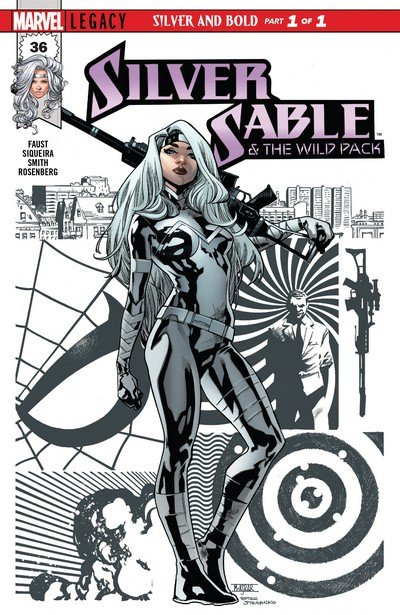 Silver Sable and The Wild Pack #36 (2017)