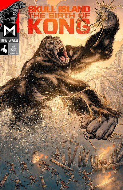 Skull Island The Birth Of Kong #4 (2017)