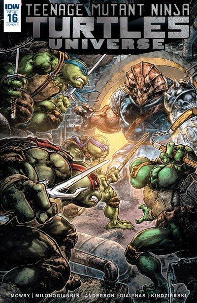 Teenage Mutant Ninja Turtles Universe #16 (2017)