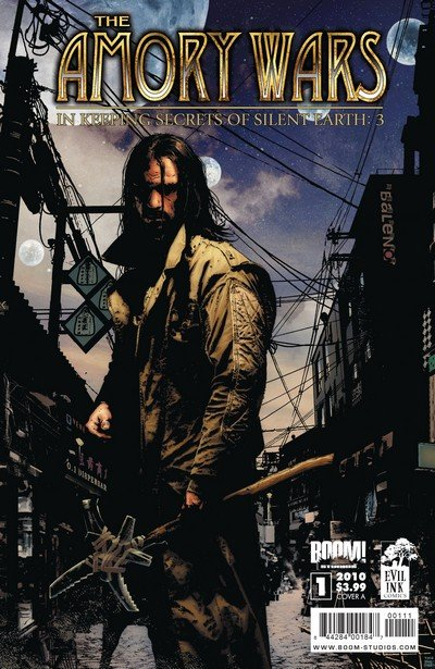 The Amory Wars – In Keeping Secrets of Silent Earth – 3 #1 – 12 (2010-2011)