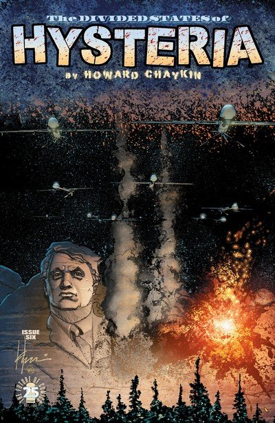 The Divided States of Hysteria #6 (2017)