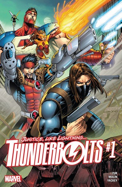Thunderbolts #1 – 12 + TPB Vol. 1 – 2 (2016-2017)
