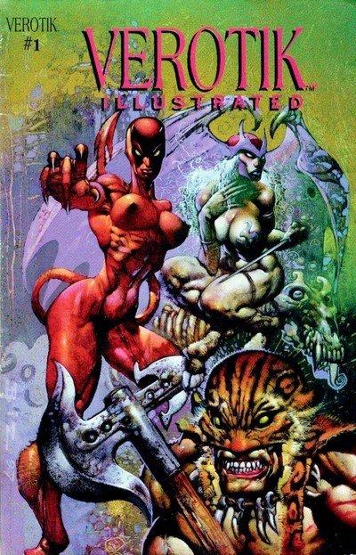 Verotik Illustrated #1 (1997) (ADULT)