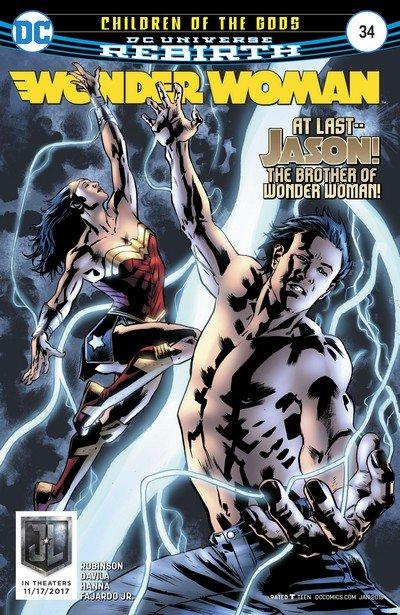 Wonder Woman #34 (2017)
