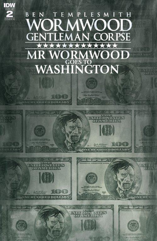 Wormwood Gentleman Corpse – Mr. Wormwood Goes to Washington #2 (2017)