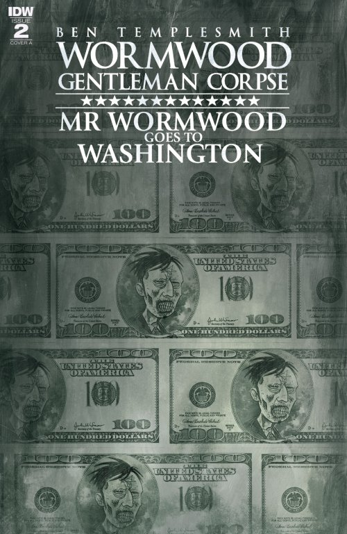 Wormwood Gentleman Corpse – Mr. Wormwood Goes to Washington #2 (2017)