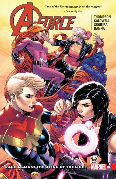 A-Force Vol. 2 – Rage Against the Dying of the Light (TPB) (2017)
