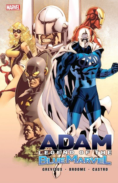 Adam Legend of the Blue Marvel (TPB) (2009)