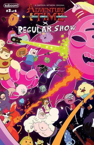 Adventure Time – Regular Show #3 (2017)