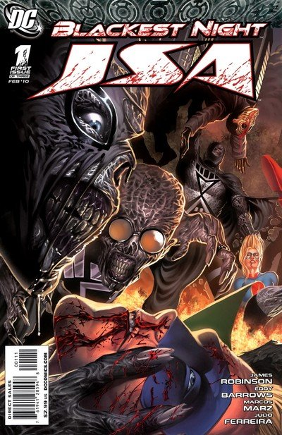Blackest Night – JSA #1 – 3 (2010)