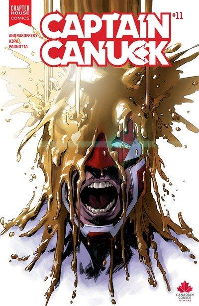 Captain Canuck #0 – 11 (2015-2016)
