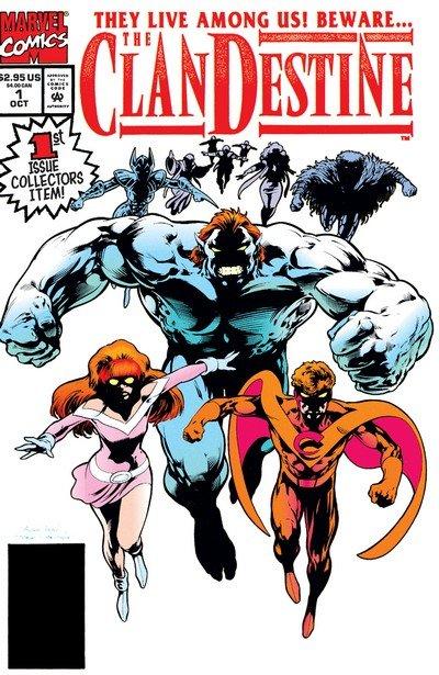 ClanDestine #1 – 8 (1994-1995)