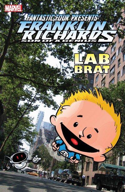 Franklin Richards Lab Brat (TPB) (2007)