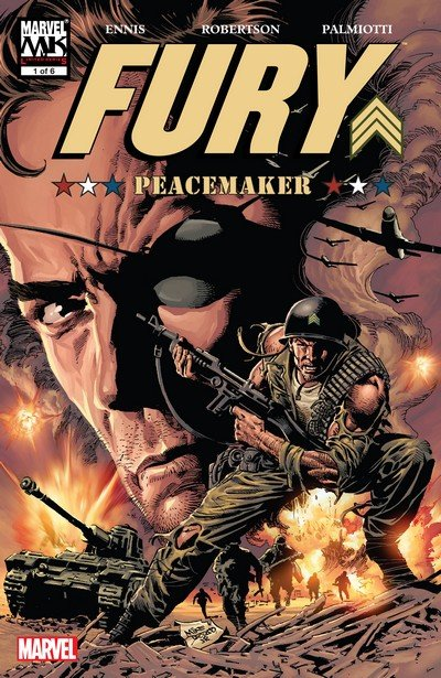 Fury – Peacemaker #1 – 6 (2006)