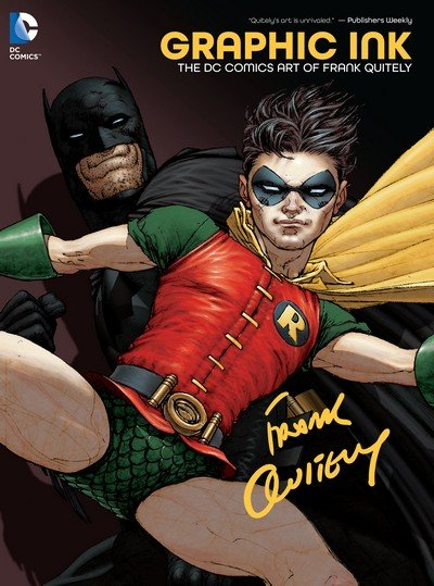 Graphic Ink – The DC Comics Art of Frank Quitely (2014)