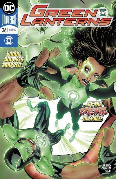 Green Lanterns #36 (2017)