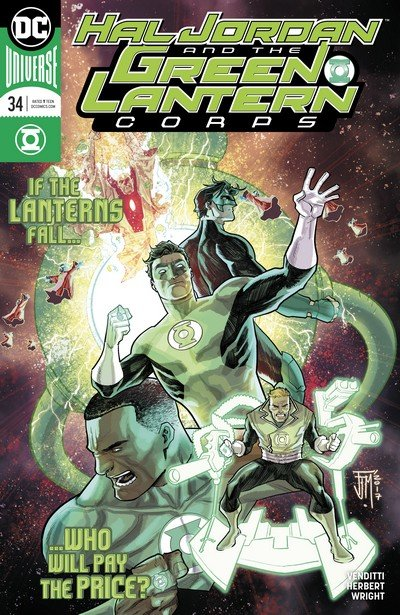 Hal Jordan and the Green Lantern Corps #34 (2017)