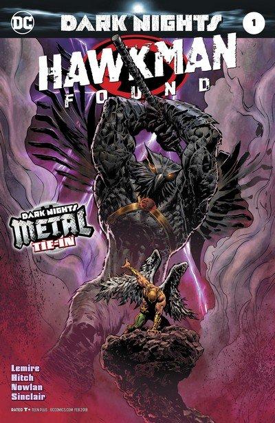 Hawkman – Found #1 (2017)
