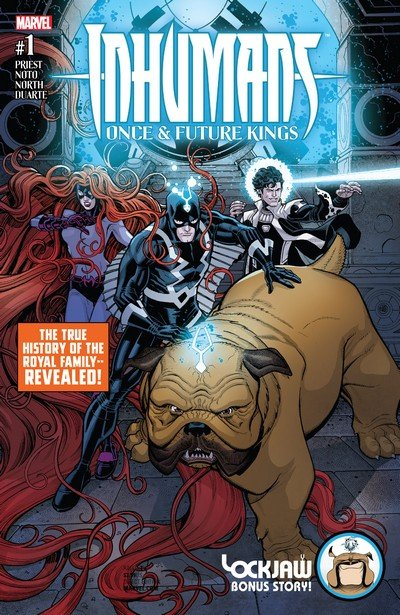 Inhumans – Once and Future Kings #1 – 5 (2017)