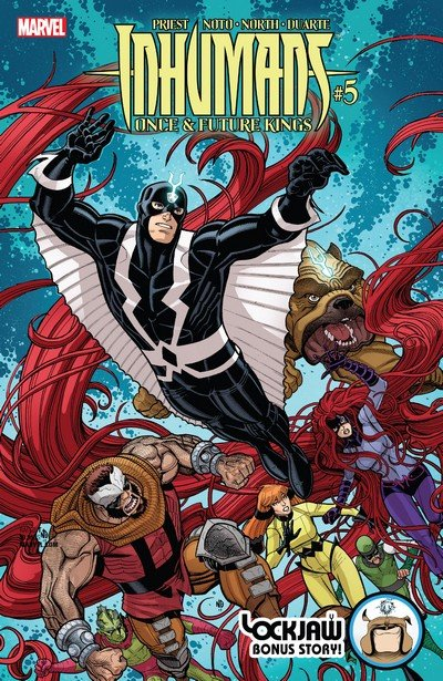 Inhumans – Once and Future Kings #5 (2017)