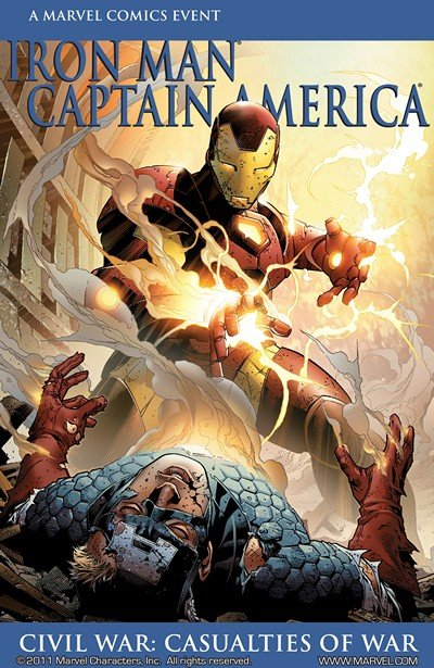 Iron Man-Captain America – Casualties of War #1 (2007)