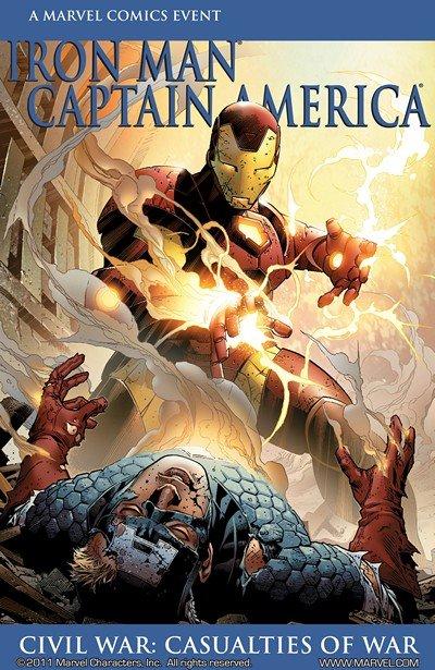 Iron Man-Captain America – Casualties of War #1 (2007)