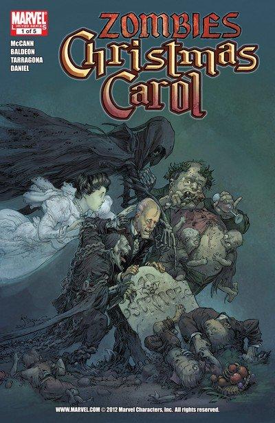 Marvel Zombies Christmas Carol #1 – 5 (2011)