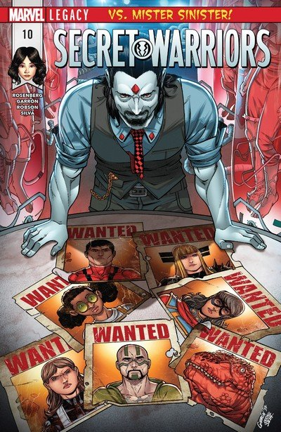 Secret Warriors #10 (2017)