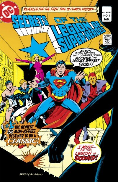 Secrets of the Legion of Super-Heroes #1 – 3 (1981)