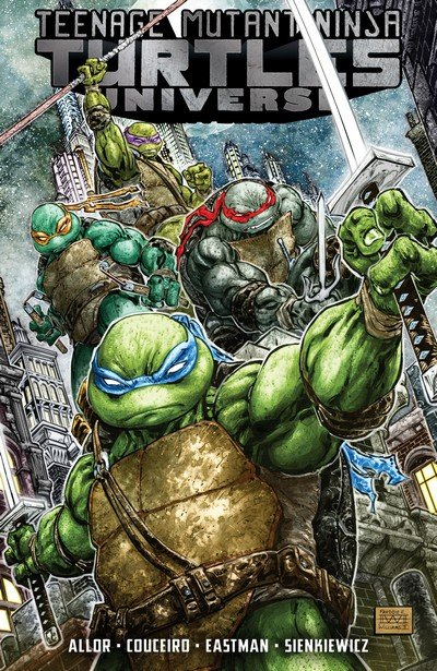 Teenage Mutant Ninja Turtles Universe Vol. 1 – 5 (TPB) (2017-2018)