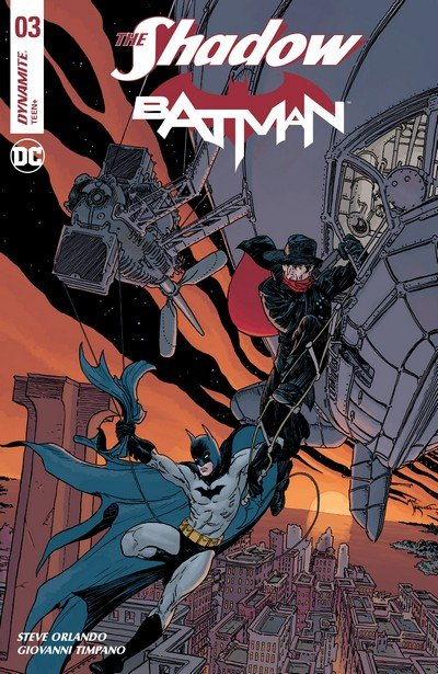 The Shadow – Batman #3 (2017)