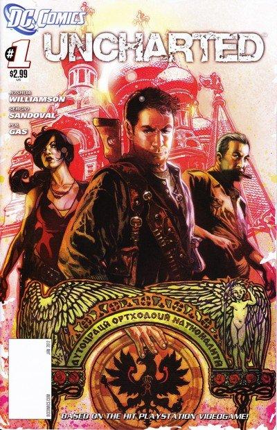 Uncharted #1 – 6 (2011-2012)