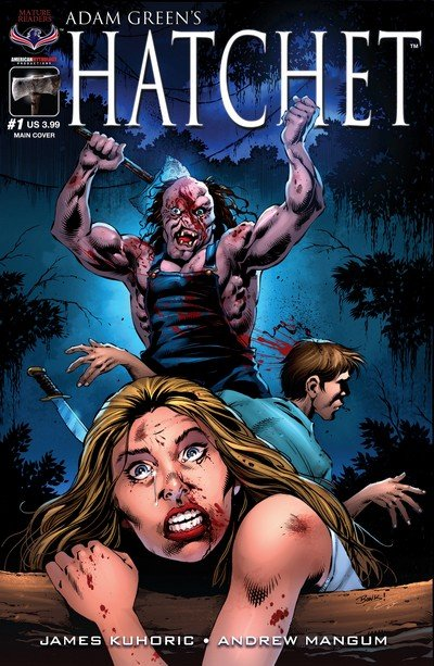 Adam Green's Hatchet #1 (2017)