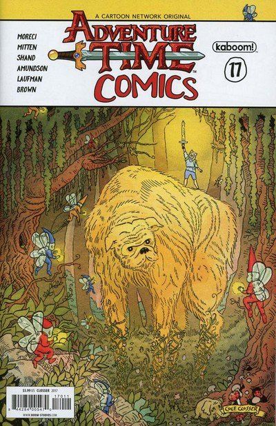 Adventure Time Comics #17 (2017)