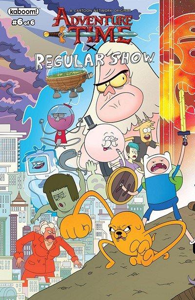 Adventure Time – Regular Show #6 (2018)