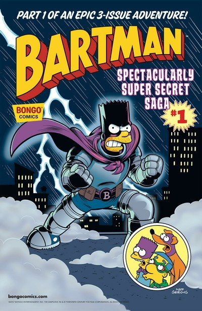Bartman Spectacularly Super Secret Saga #1 – 3 (2017)