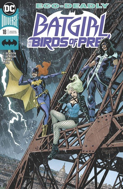 Batgirl And The Birds Of Prey #18 (2018)