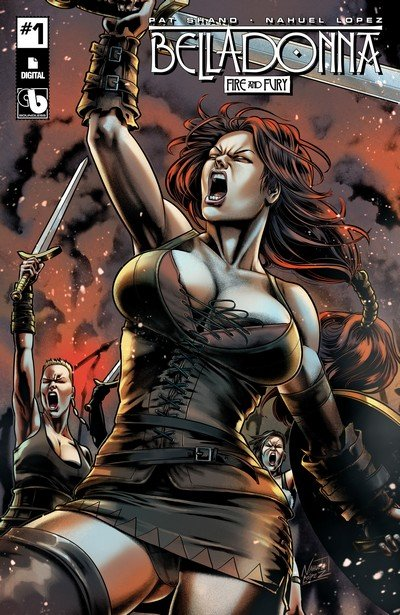 Belladonna – Fire and Fury #1 (2017) (ADULT)