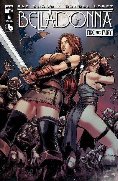 Belladonna – Fire and Fury #2 (2017) (ADULT)