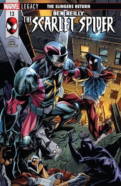 Ben Reilly – Scarlet Spider #13 (2018)