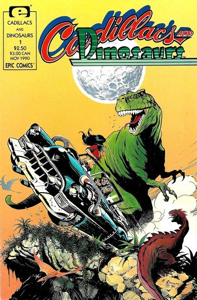 Cadillacs & Dinosaurs (Collection) (1987-2008)