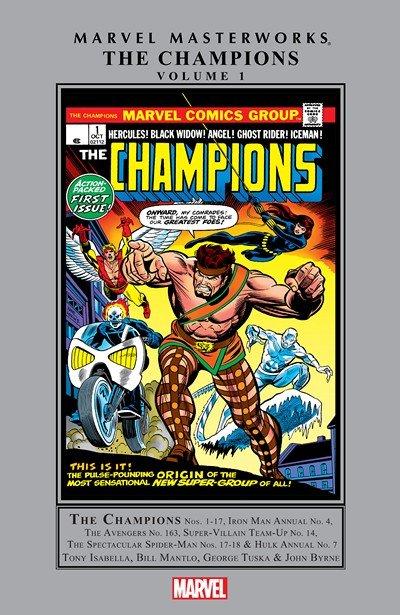 Champions Masterworks Vol. 1 (TPB) (2016)